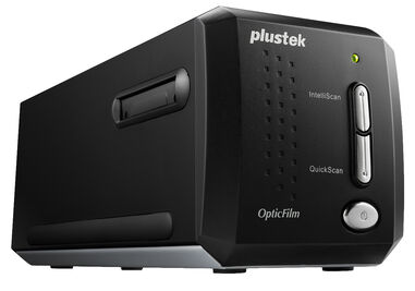 Plustek OpticFilm 8200i Ai + Silverfast SE Plus 8 Software + 35mm IT8-kalibratie template