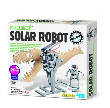 4M Kidzlabs Green Science: Solar Robot