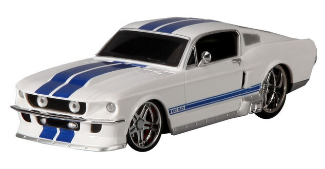 Maisto sportauto RC Ford Mustang GT 1967 19 cm 1:24 wit