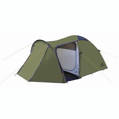 Hannah Outdoor Atol 4 familie tent 4 persoons - Capulet Olive - Groen