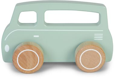 Bus hout Little Dutch 13x4x8 cm