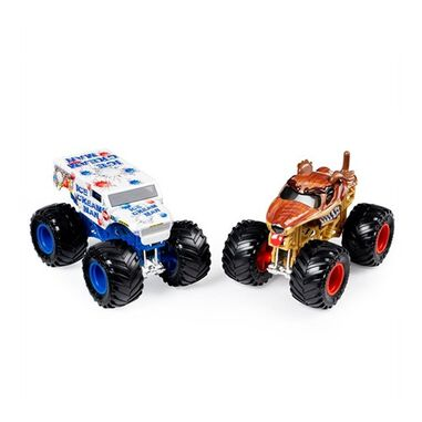 Spin Master Monster Jam trucks 9 cm Ice Cream Man/Monster Mutt
