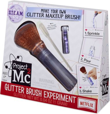 Experiment Project Mc2 Glitter Brush