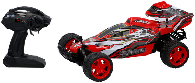 Gearbox Rc Raceauto 1:10 High Speed Car 2,4 Ghz Rood