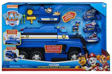 Toy Car Special Paw Patrol Ultimate Police Cruiser