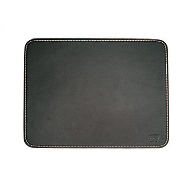 Ewent EW2761 Mouse Pad Black leather look