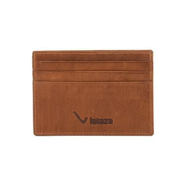 Lataza Card Wallet Cognac