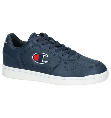 20593d3a981 Donkerblauwe Sneakers Champion Chicago Basket Low