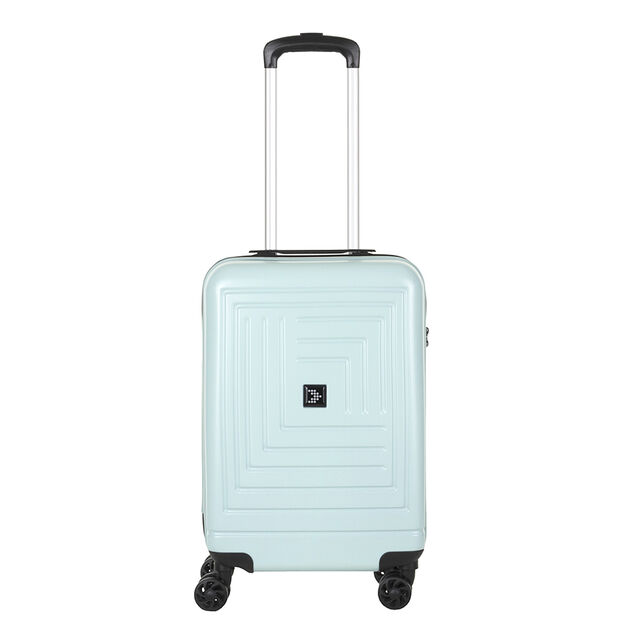 Travelbags Parijs 4 Wheel Trolley 55 mint groen