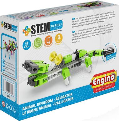 Engino Stem Heroes Alligator
