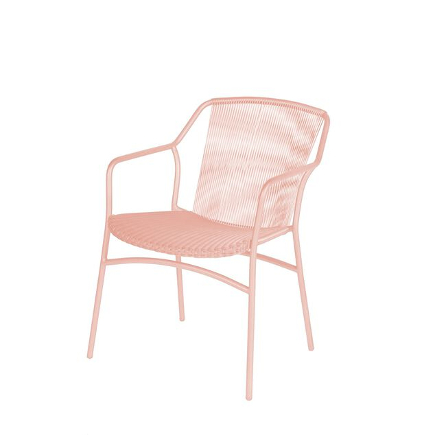 Sophie stacking chair apricot