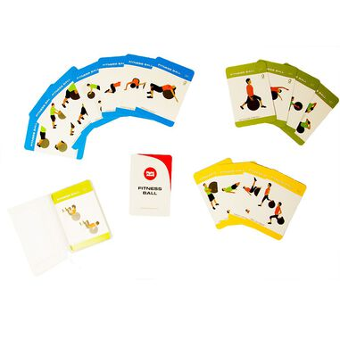 Fight Back Fitness Ball Training Cards
