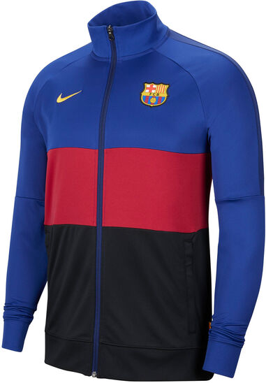Nike Fc barcelona trainingsjack 2020-2021 kids