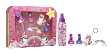 Eau My Unicorn EDT 100 ml + Keyring + Manicure Kit