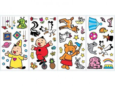 Studio 100 muurstickers Bumba roommates 52 stickers