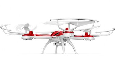 Jamara quadrocopter Merlo Altitude HD Flyback 2,4 GHz 33 cm wit