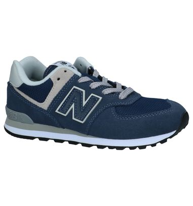 Blauwe Sneakers New Balance PC574