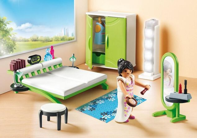 Playmobil 9271 Slaapkamer met make-up tafel