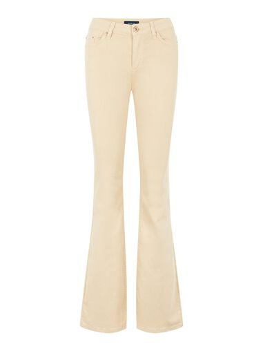 Pieces Flared Jeans Mid-rise waist