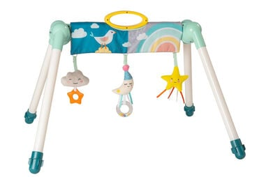 Taf Toys baby-gym Mini Moon junior  77 x 59 cm blauw/wit