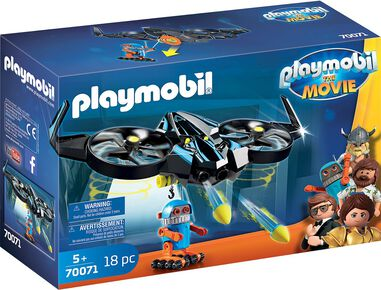 Playmobil the Movie 70071 Robotitron met Drone