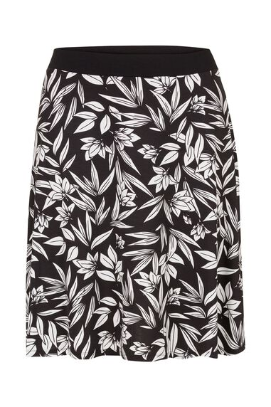 Miss Etam Dames Etam Plus - Rok print LOVE LILLY SKIRT
