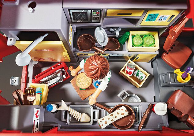Playmobil the Movie 70075 Del's Foodtruck
