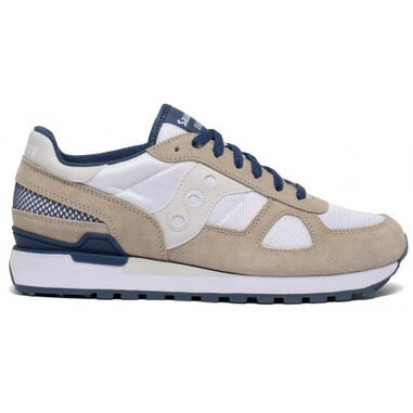 Saucony Men shadow original white grey blue