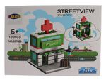 Luna Mini City Streetview Drugstore bouwset 120-delig (657006)