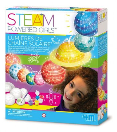4M Steam Powered Girls zonnestelselsysteem (Frans)