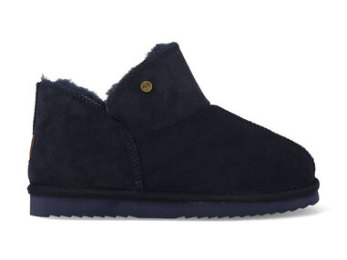 Warmbat Pantoffels willow wlw321045 donker