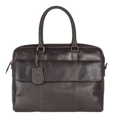 Burkely On The Move Laptopbag Flap Brown 15 inch