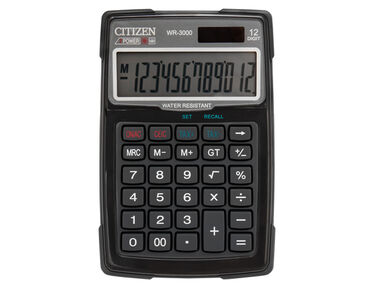 Calculator Citizen outdoor desktop BusinessLine. Zwart