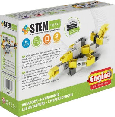 Engino Stem Heroes Hypersonic