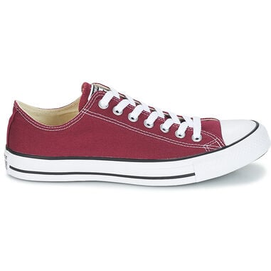 Converse Heren Sneakers All Star Ox Maroon Rood