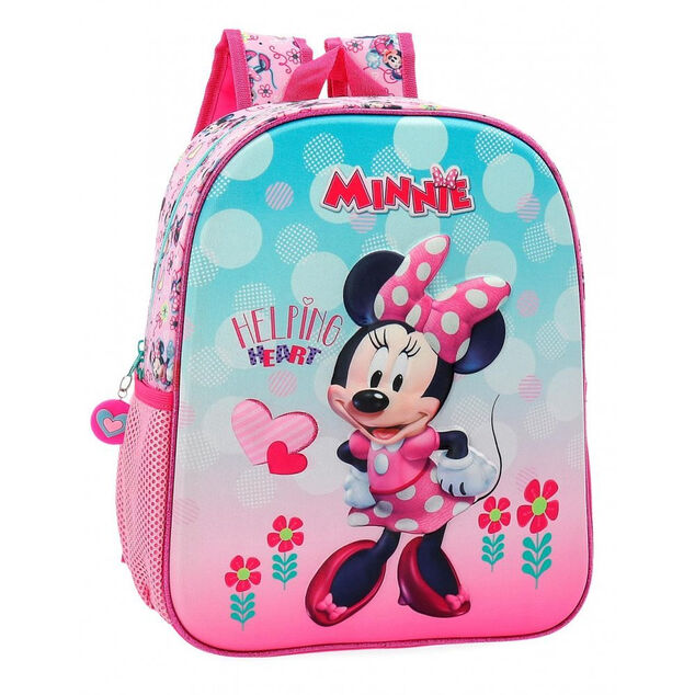 Disney Backpack 33 Cm Minnie Mouse Pink/Blue