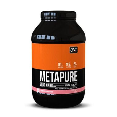 QNT Zero Carb Metapure - 908g - Strawberry Banana