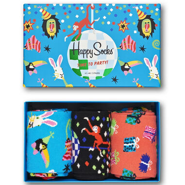 Happy Socks gift box party color