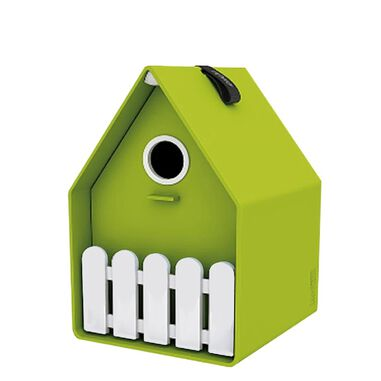 Landhaus bird house lime