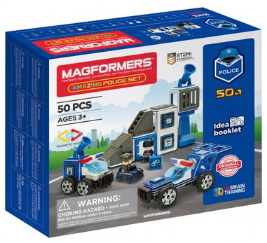 Magformers Amazing Police set 50-delig