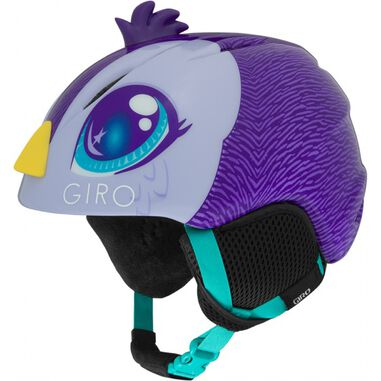 Giro skihelm Launch Plus junior paars