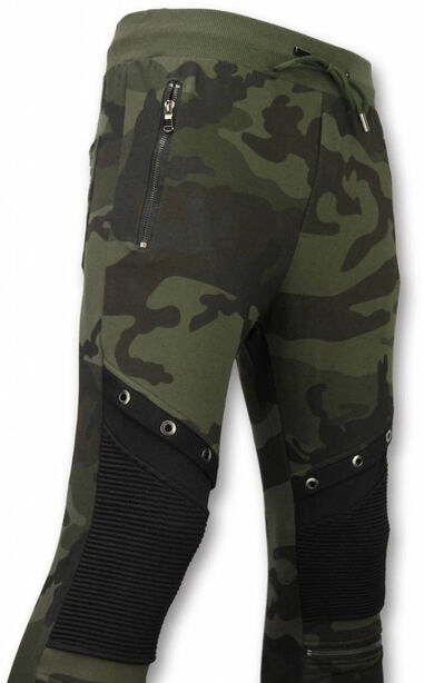 Enos Camouflage broek casual joggingbroek