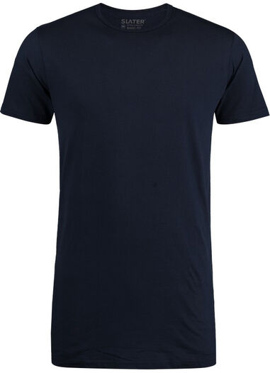 Slater T-shirt r-hals 2-pack extra long fit