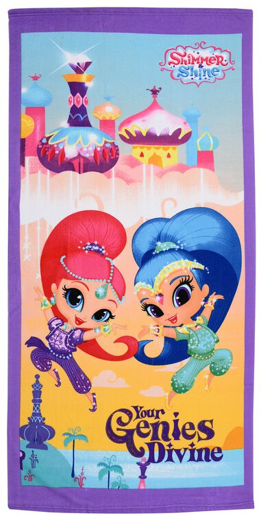 Nick Junior badlaken Shimmer & Shine Your Genies Devine 70 x 140 cm