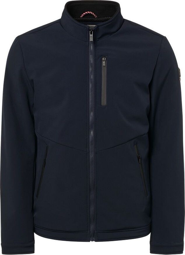No Excess Jack soft shell blauw