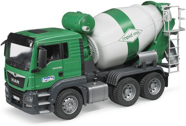 MAN TGS cement mixer Bruder