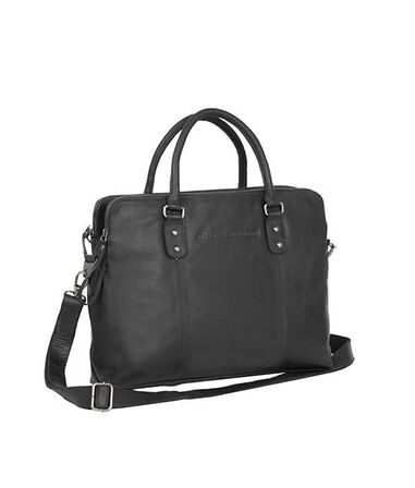 Chesterfield Maria 3-vaks Shoulderbag Black 15 inch