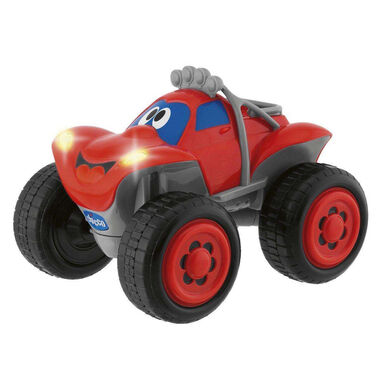 Chicco speelgoedauto RC Billy BigWheels junior rood 2-delig