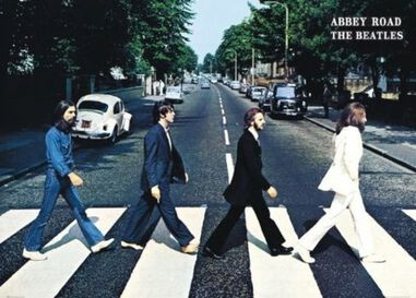The Beatles Abbey Road XL Poster