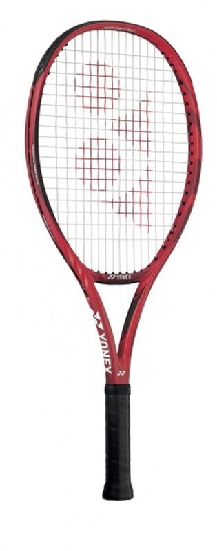 tennisracket VCore 25 junior rood/zwart gripmaat L0